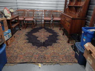 Vintage Oriental Rug & Leopold Stickley Furniture