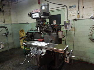 Lilian Machine Industrial Co Seiki-XL Knee Mill