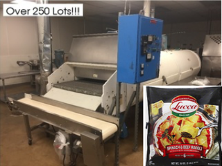 Internet Bidding Only - Equipment of Carmel Food Group - Plant Closed! - Frozen & Fresh Ravioli, Tortellini and Other Pasta