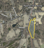 Land - Approx. 15.43 Acres