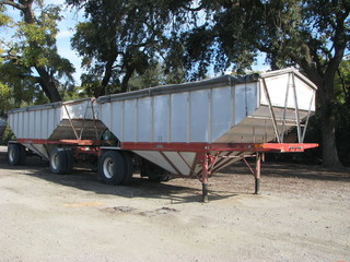 WESCO ALU hopper trailers/roll tarps