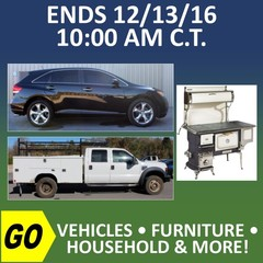 ONLINE ONLY ABSOLUTE AUCTION - Personal Property