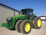 Absolute auction!  John Deere late-model, low-hour mach & equip