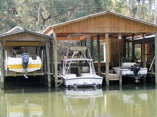 Boat Dock on Magnolia River