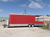 BBQ Concession Trailer