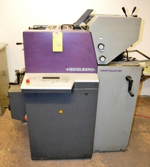 Heidelberg Printmaster 2-Color, Model QM46-2, S/N 960838