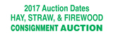 2017 Hay, Straw & Firewood Auction