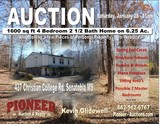 Tate County MS - 1600 sq ft 4 Bedroom 2 1/2 Bath Home on 6.25 ac.