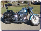 1994 HARLEY MC FLF (Well Maintained, Low Miles)/ CRAFTSMAN Riding Mower/ Washer & Dryer/ Furniture/ Kitchen Accessories and More!