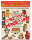 PAST-PHONOGRAPH FALL 2016 CATALOG & POST SALES REPORT