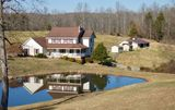 4 BR/3.5 BA HOME w/BARN, POND & FENCING on 5.9 +/-  ACRES in MADISON COUNTY, VA