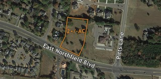 2 +/- AC Lot is ready for Commercial Potential Developement