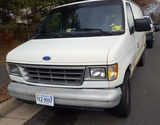 SUPER SHORT NOTICE AUCTION! A 1995 FORD ECONOLINE E150 CARGO VAN, WITH A GOOD WORKING ENGINE & TRANSMISSION!