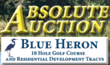 ABSOLUTE AUCTION of Blue Heron Golf Course