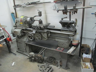BRIDGEPORT MODEL A LATHE WITH TOOLING