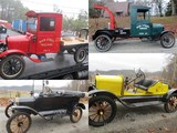 ANTIQUE CAR COLLECTION - 8 FORD MODEL T's