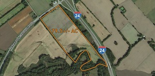 80.5 +/- AC Prime Commercial Land Ready for Development