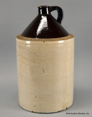 Primitive Crock Jug