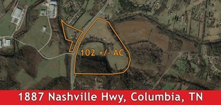 102 +/- AC Land for Development in Columbia, TN