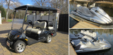 Lake Wylie, NC - Golf Cart, Jet Skis, Jet Ski Ramps - Online Only Auction