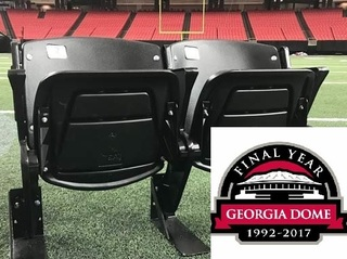 Atlanta Georgia Dome Seat Sale Now In Progress