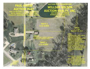 Auction Plat Tracts 1-2