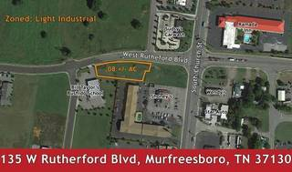 .8 +/- AC Commercial Lot near I-24