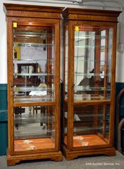 Jasper Lighted Curio Cabinets