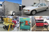 Taylors, SC - Vehicle, Enclosed Trailer, Welding & Metal Working Equipment, Power Tools & More! - Online Only Auction