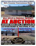 Ed's Country Convience Store / Shed & Farm 3 Acres +.-
