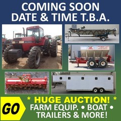 ONLINE ONLY ABSOLUTE AUCTION - Farm Equipment