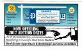 Now Offering 2017 Auction Dates