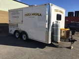 Mobile Kitchen Food Trailer Timed Online Only Auction