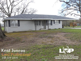 2 bed 1 bath home and 12 acres of land for sale in Mansura, LA