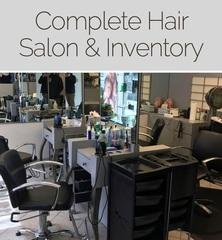 Closed and sold bethesda salon online auction bethesda md for Salon liquidation