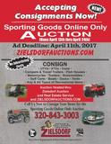 Online Only Sporting Goods Consignment