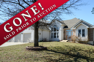 SOLD! 4 Bedroom Ranch, 3.5 Bath, 3 Car Garage, Full Walk-Out Basement, Quiet Cul-de-Sac, Kearney, MO - Needs Rehab!  For Sale at Online Auction.