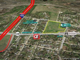GONE! No Reserve Online Auction: 7+/- Acres Development Land | US-24/Winner Rd., Kansas City, MO