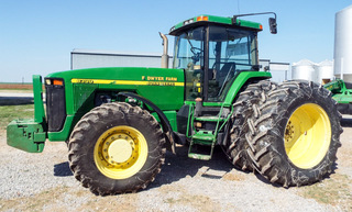 1999 John Deere MFW 8300 tractor, PS, 5,233 hrs