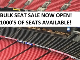 BULK SEAT SALE GEORGIA DOME FACILITY
