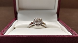 Helzberg Diamonds - .93 CTW Diamond Ring