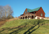AUCTION of Beautiful Log Cabin Home