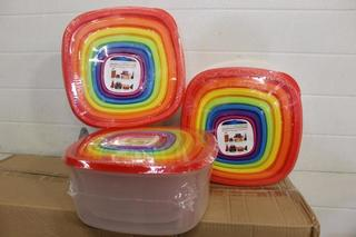 Rainbow Container Sets