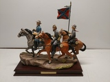 Timed Online Only Auction - Franklin Mint - At the Heart of the Confederacy Statue by Jim Ponter