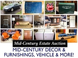 Kansas City North Mid Century Estate Auction