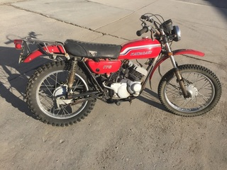 1972 Kawasaki F7 175 Motorcycle w/ Good Title