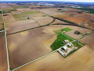 SEALED BID AUCTION - 137 +/- ACRES - PRIME FORT BRANCH FARMLAND - COMMERCIAL LEASE WITH BLDGS ON 3.24 +/- AC