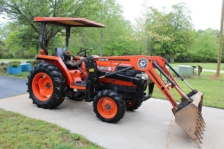 Tractor, Trailers, Farm Implements & Tools