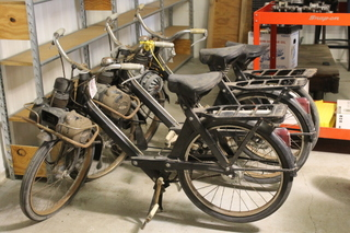 Vintage French Motorized Bicycles