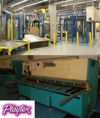 Internet Bidding Only Auction - Equipment from Edgewell Playtex -Plant Closing